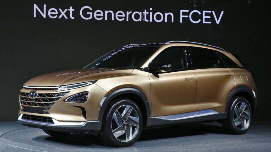 Hyundai, ecco il nuovo SUV a idrogeno