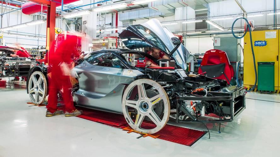 Akár még egy elektromos sportautót is piacra dobhat a Ferrari
