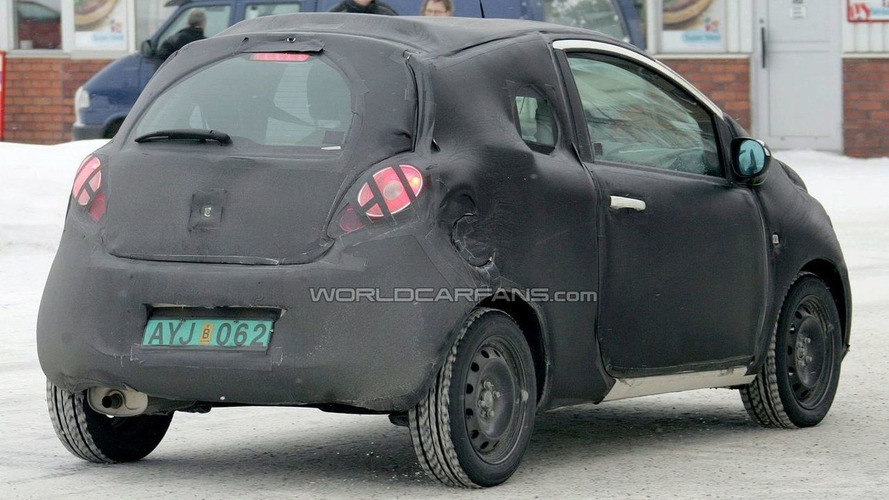 Ford Ka Latest Spy Photos with First Interior Shot