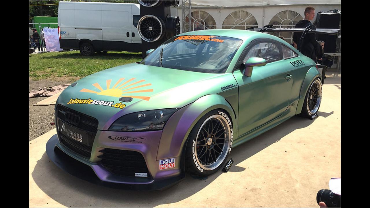 An diesem Audi TT ist so ziemlich alles verändert worden