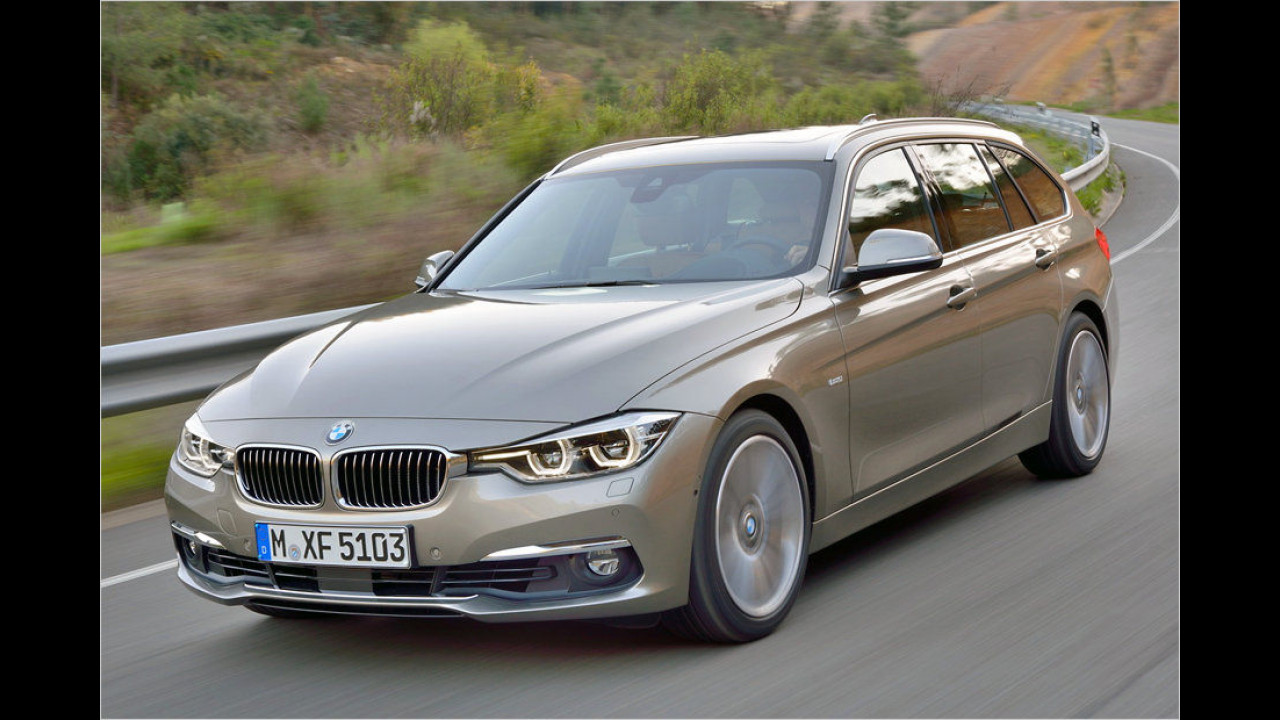 BMW 3er Facelift (2015)
