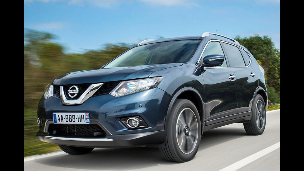 Platz 10: Nissan X-Trail Hybrid (5 Punkte)