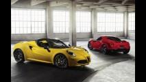 Salão de Detroit: Alfa Romeo revela versão de produção do 4C Spider