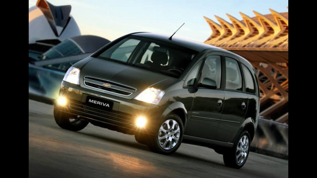 Chevrolet passa a oferecer airbags para Corsa e Meriva