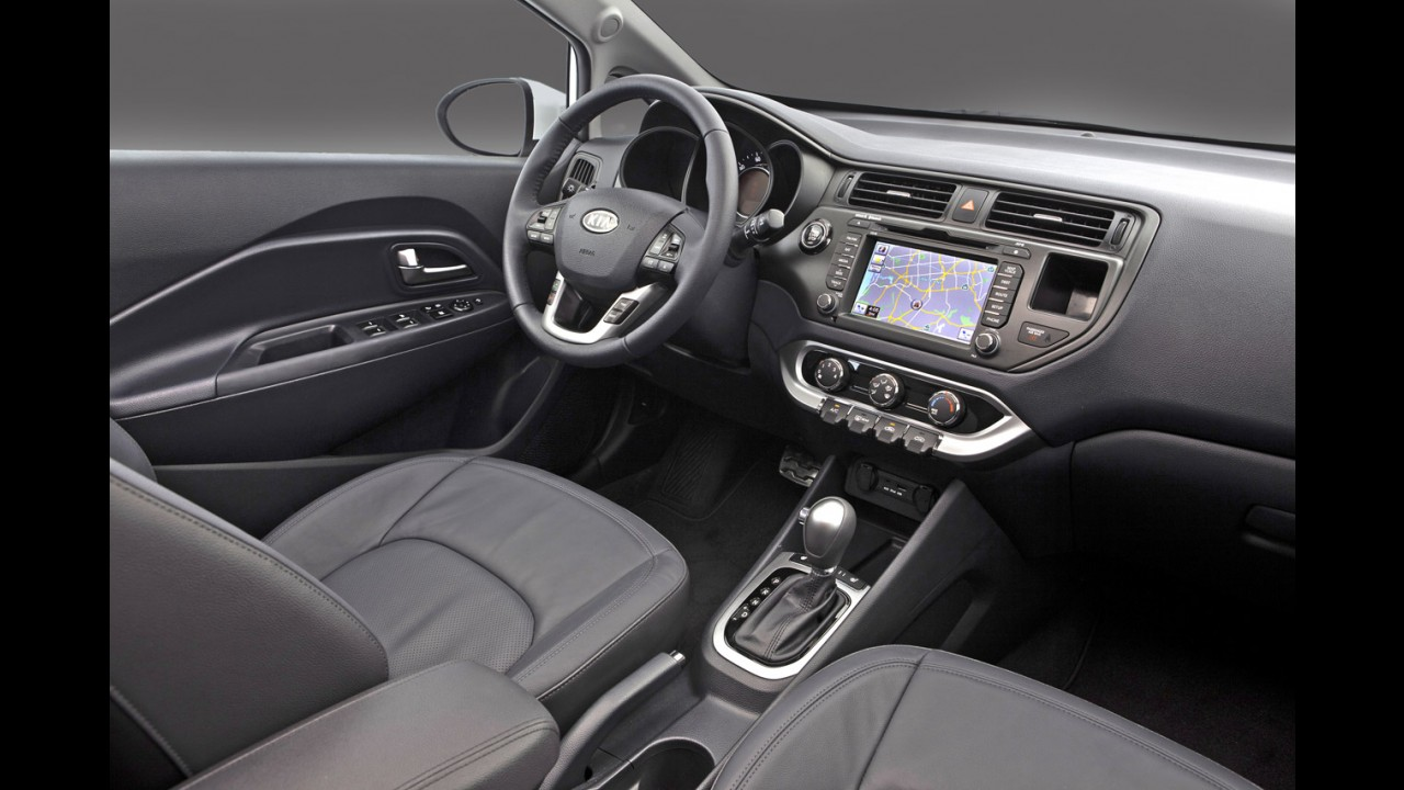 Em versão sedan, Kia Rio custa o equivalente a R$ 23.000 nos EUA