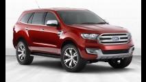 Ford divulga teaser e confirma estreia do Everest para o dia 14