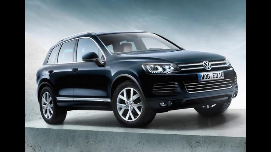 Volkswagen lança Touareg Edition X para celebrar os 10 anos do SUV