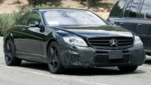 Mercedes CL 63 AMG Spy Photo