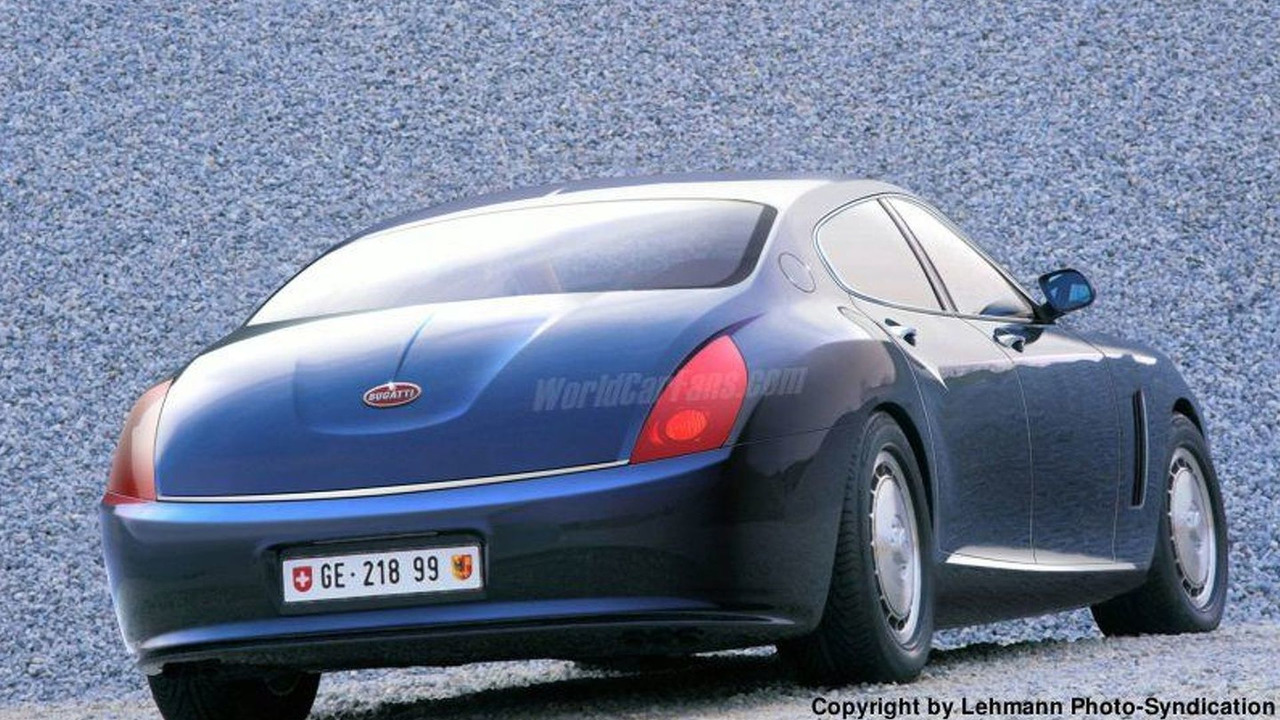 Bugatti Veyron-based Sedan