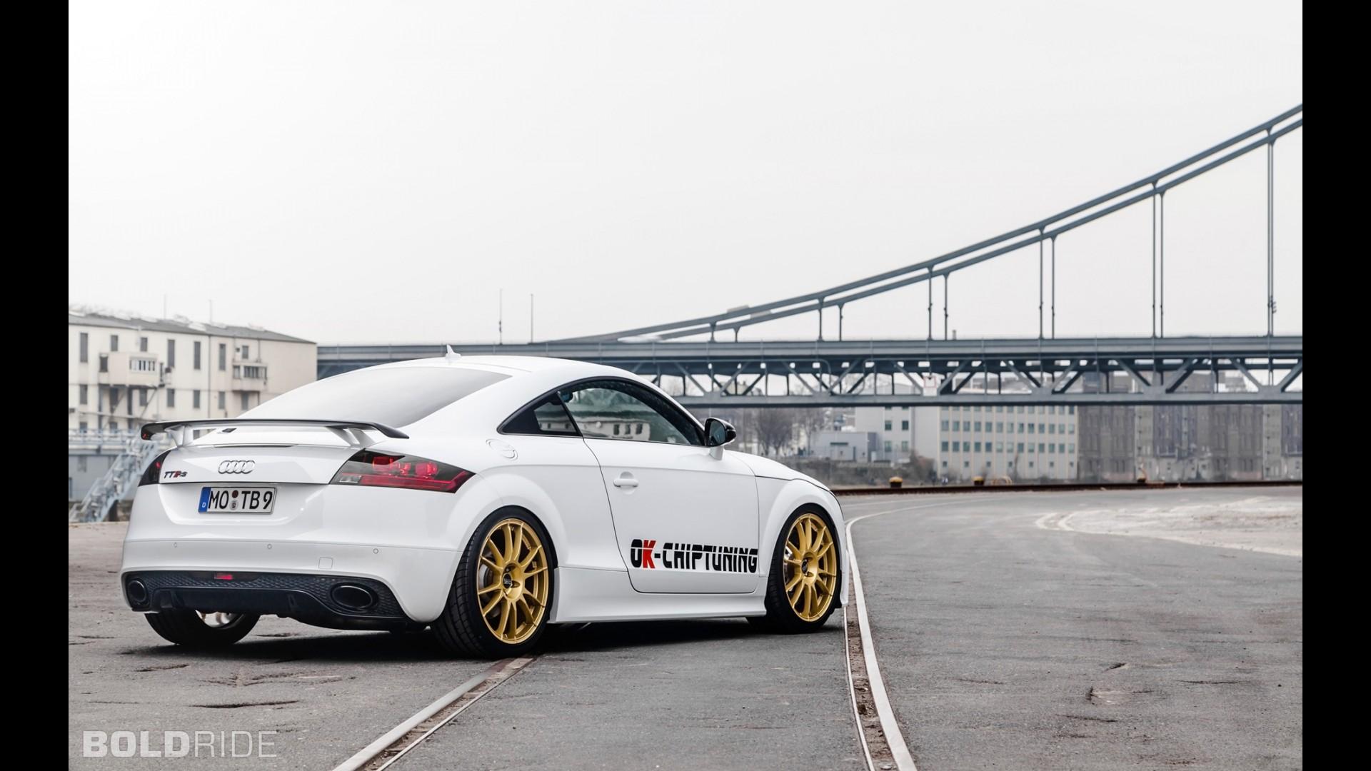 Тюнинг Audi TT RS Plus от OK-Chiptuning