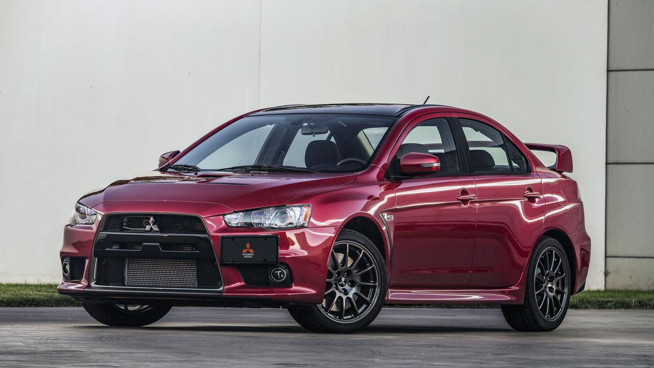 Mitsubishi Lancer Evoluttion Final Auction