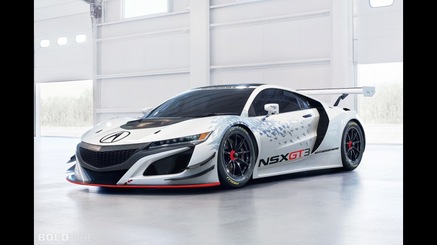 RWD Acura NSX GT3 breaks cover ahead 2017 race debut