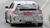 Spyshot de la Honda Civic Type R 2018