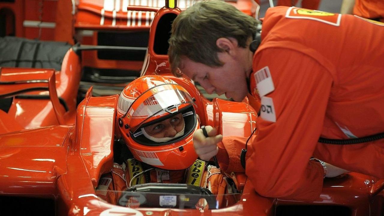 Michael Schumacher testing