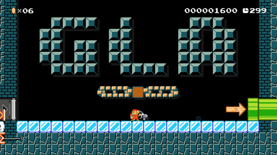 Mercedes GLA arrives in Super Mario Maker [video]