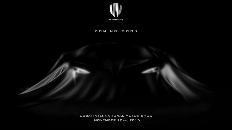 1,000+ PS W Motors Fenyr SuperSport teased ahead of Dubai Motor Show reveal