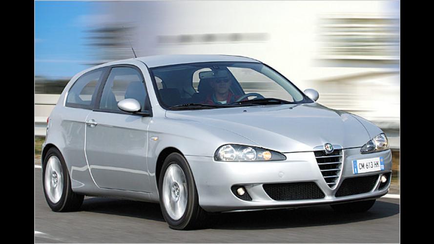 Versammelte Vorteile: Sondermodell Alfa 147 Collezione