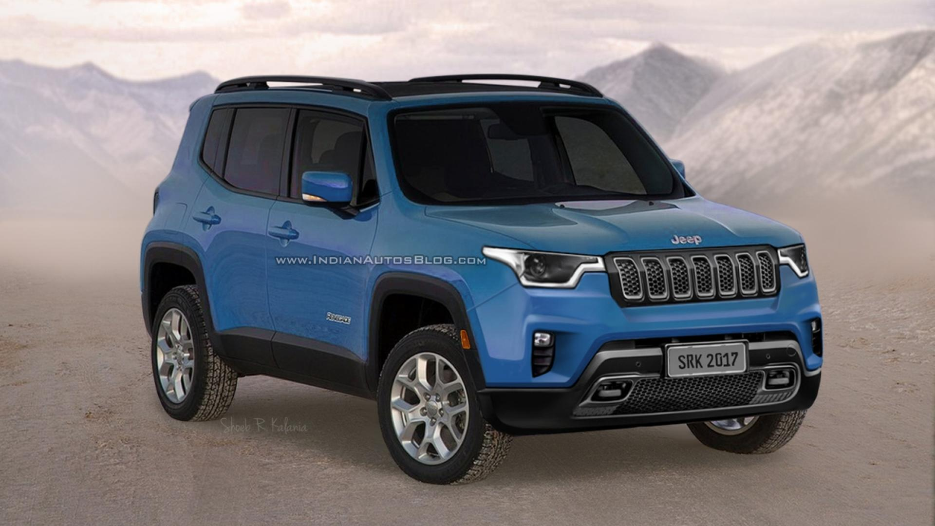 Jeep Renegade For Sale >> Will The Next Jeep Renegade Look Like This?