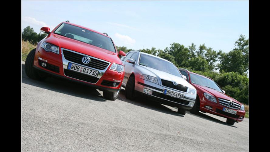 Mittelstands-Modelle: Beliebte Diesel-Kombis im Vergleich