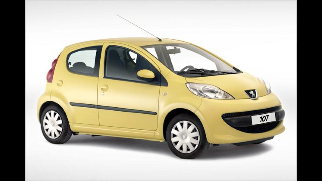 Peugeot räumt auf
