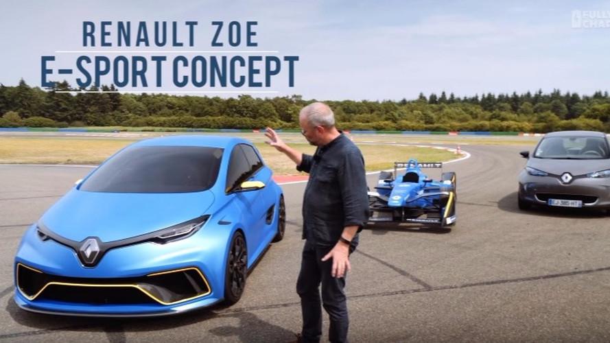 Renault Zoe E-Sport konsepti test edildi