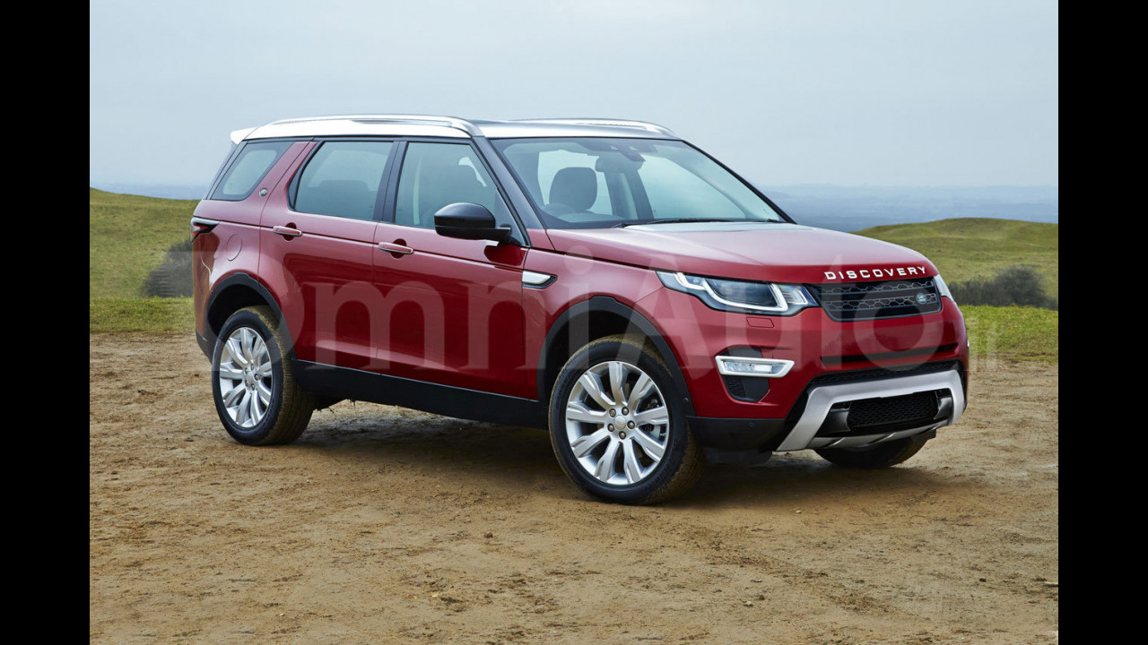 Land Rover Discovery, il rendering