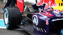Daniel Ricciardo Red Bull RB10 31.01.2014 Formula One Testing Jerez Spain