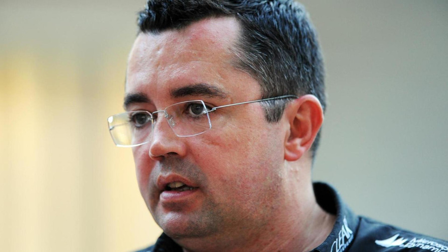 McLaren confirms Boullier as 'racing director' as MP4-29 makes track debut