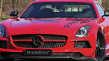 Mercedes-Benz SLS AMG Black Series gets 800 HP from Domanig