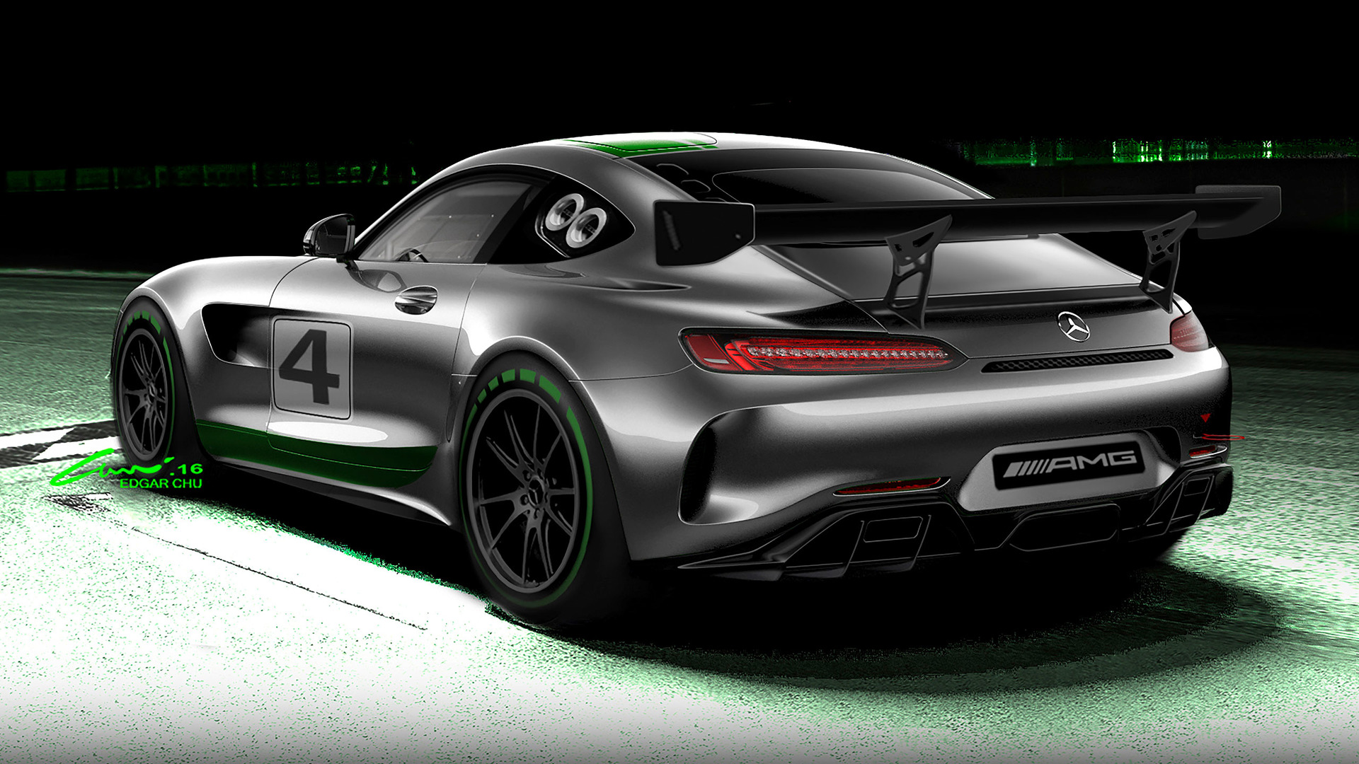 Mercedes-AMG\'s new GT4 race car looks stunning