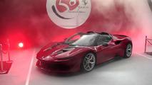 Ferrari J50 debut video