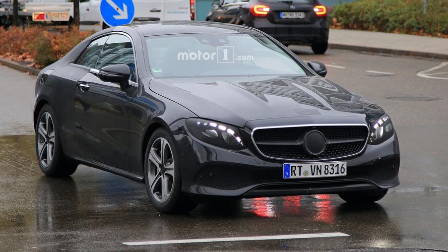 Mercedes E-Class Coupe and Convertible spy photos