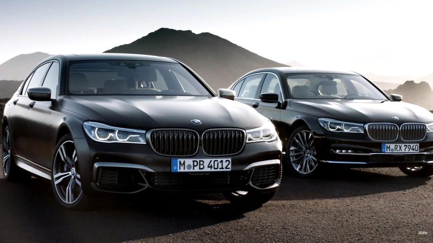 BMW M760Li xDrive promo video