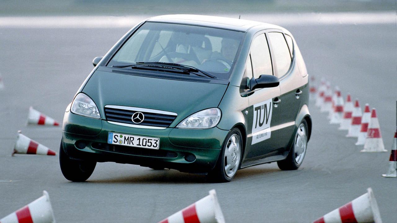 Mercedes A-Klasse: Der Elchtest