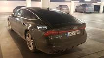 Audi S7 Sportback Spy Shots