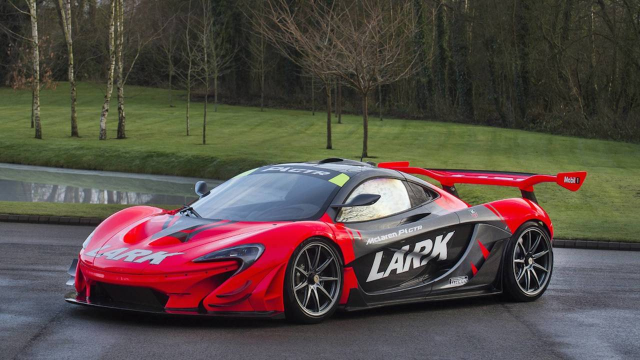 street legal mclaren p1 gtr pays homage to f1 and it 39 s for sale. Black Bedroom Furniture Sets. Home Design Ideas