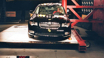 New Skoda Superb EuroNCAP crash tests