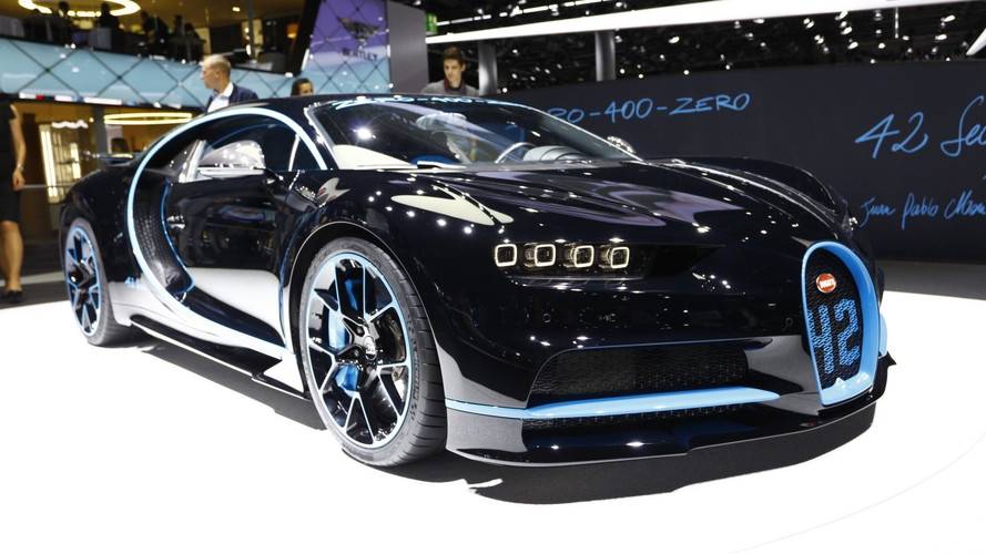 See The Bugatti Chiron Brag About Its 0-249-0 Record In Frankfurt