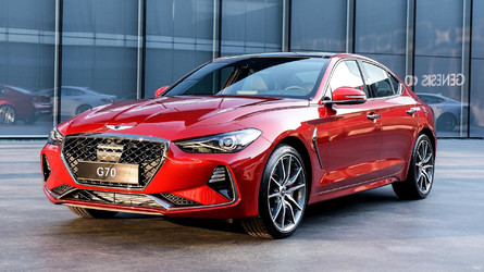 Genesis G70 Is Korea's 3 Series Fighter