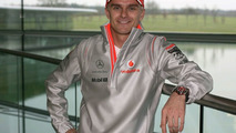 Heikki Kovalainen as McLaren Mercedes driver