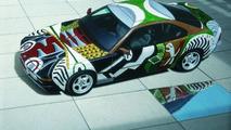David Hockney (GB) 1995 BMW 850CSi art car - 1600