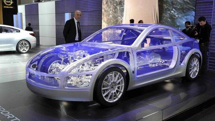 Subaru Boxer Sports Car Architecture world premiere in Geneva