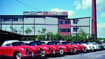 Porsche Plant 2 at Zuffenhausen in the year of 1957 - 17.03.2010