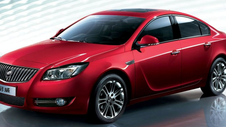 Buick Regal Based on Opel Insignia Launched in China