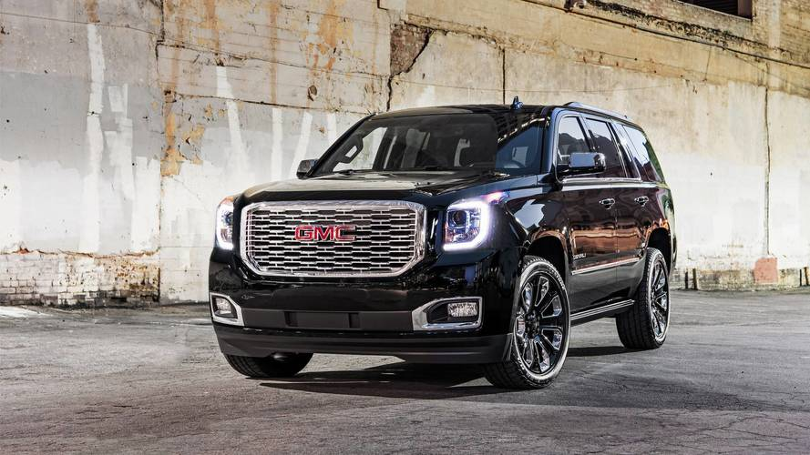 2018 GMC Yukon Denali Ultimate Black Edition Puts On Tuxedo