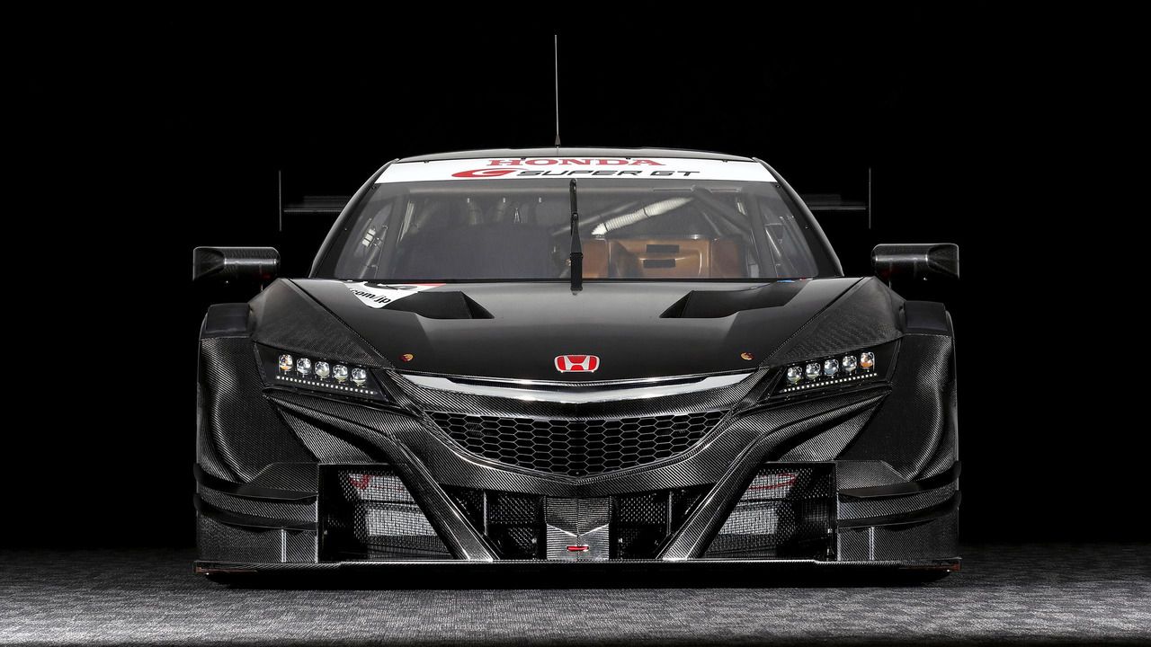 Mean Looking Honda Nsx Gt Ready For Battle In Super Gt Series