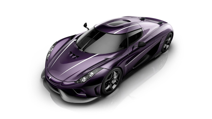 Koenigsegg Regera hommage Prince