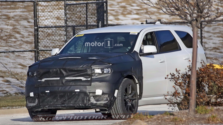 Possible Dodge Durango Hellcat spotted outside SRT HQ