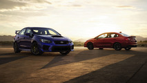 2018 Subaru WRX and WRX STI