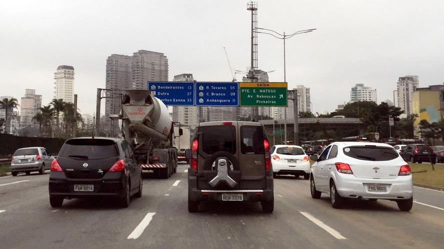 São Paulo está entre as 10 cidades mais congestionadas do mundo
